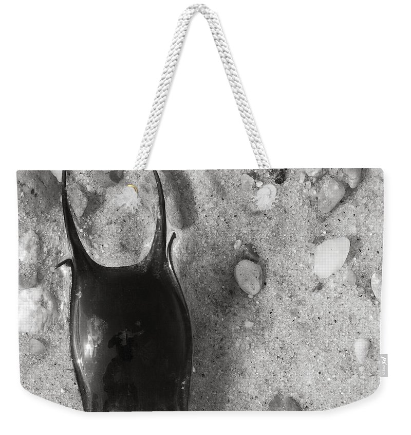 Skate Weekender Tote Bag featuring the photograph bw1 by Charles Harden