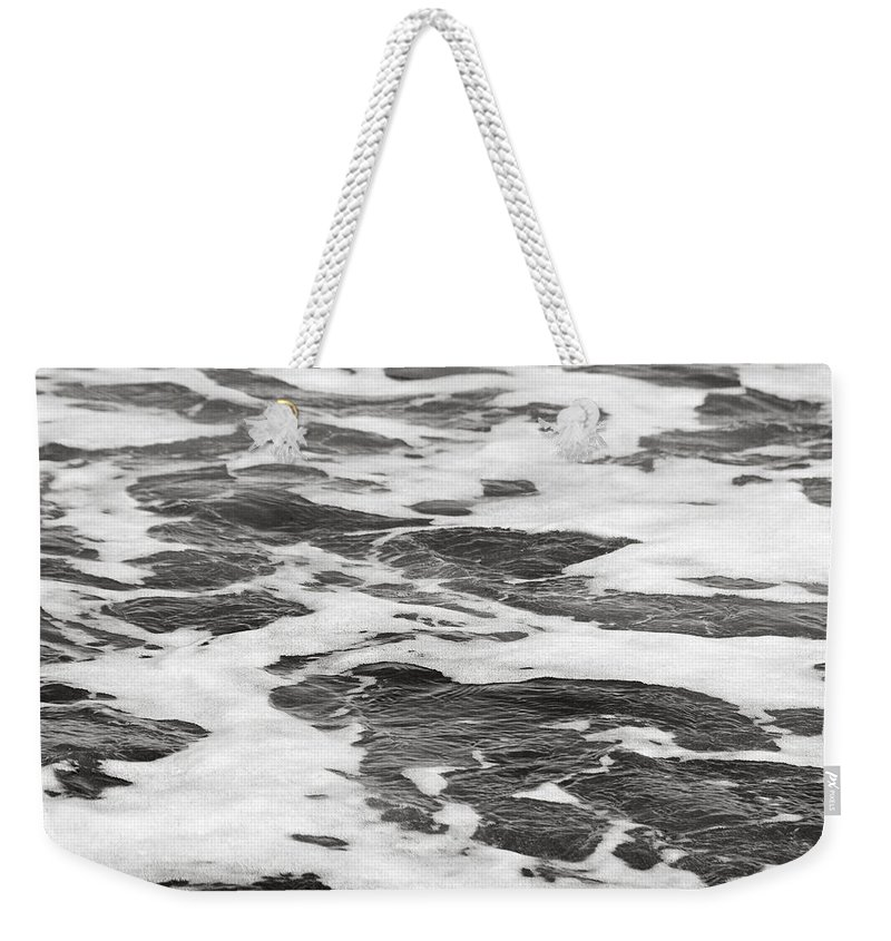 Sand Weekender Tote Bag featuring the photograph Bw5 by Charles Harden