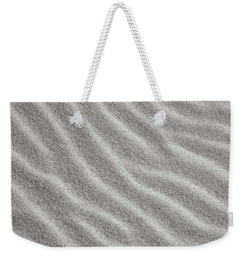 Sand Weekender Tote Bag featuring the photograph Bw6 by Charles Harden
