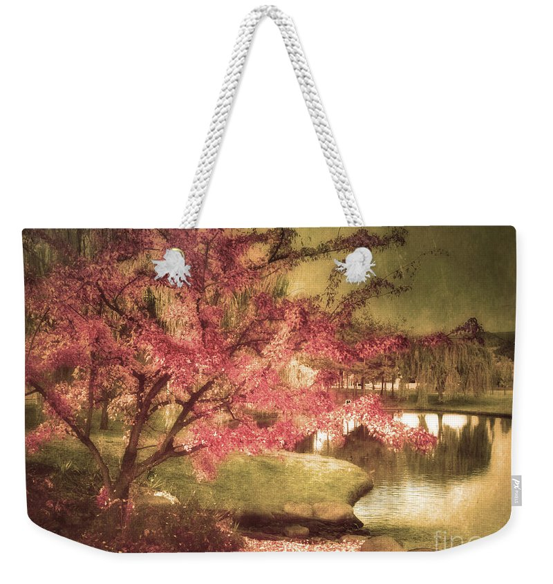Tree Weekender Tote Bag featuring the photograph By The Water by Tara Turner