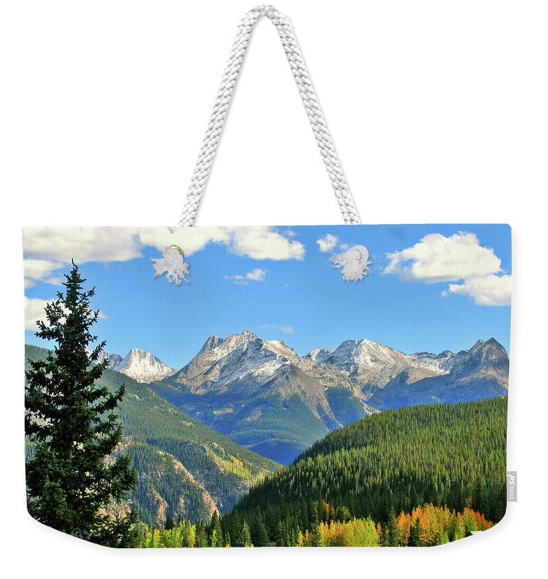 Cabin Weekender Tote Bag featuring the photograph Cabin In The San Juans by Scott Mahon