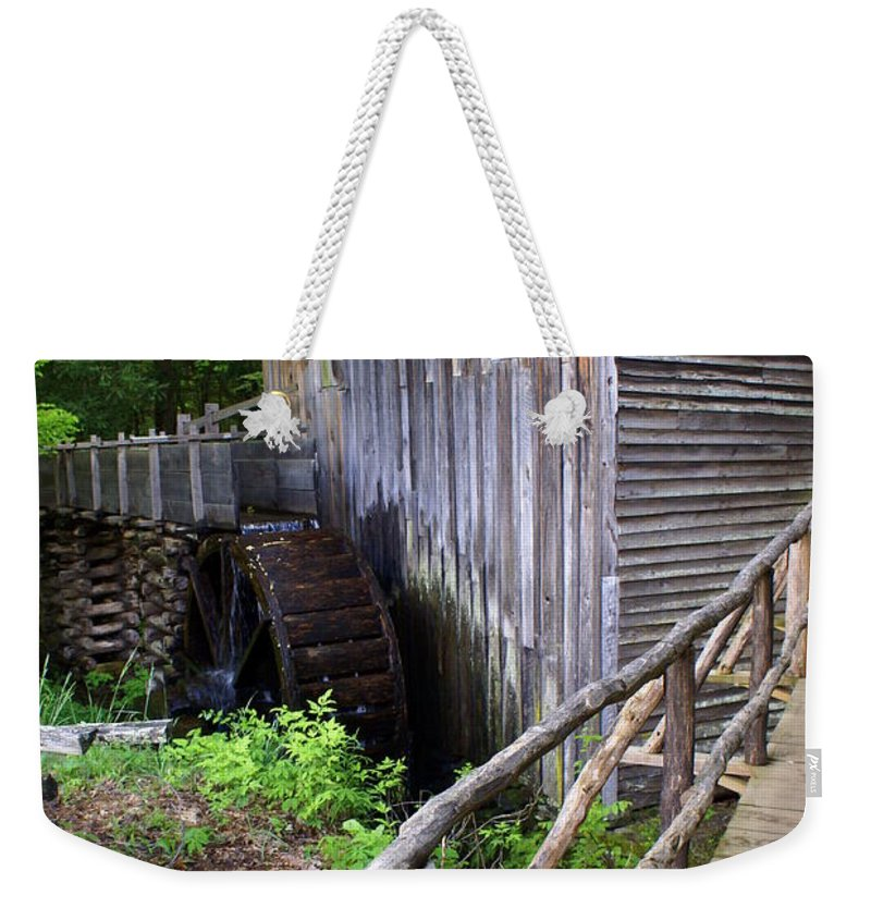 Cable Mill Weekender Tote Bag featuring the photograph Cable Mill 3 by Marty Koch