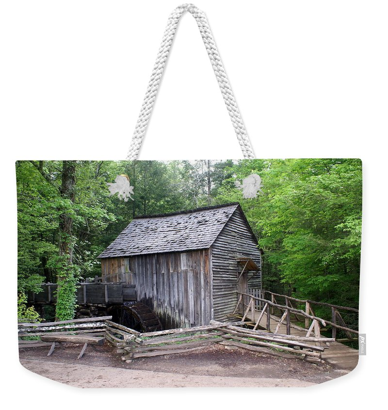Cable Mill Weekender Tote Bag featuring the photograph Cable Mill by Marty Koch