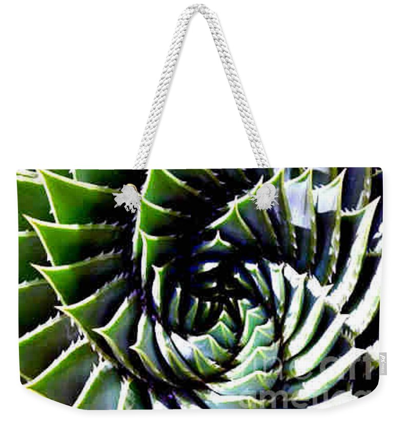 Cactus Weekender Tote Bag featuring the photograph Cactus by Dragica Micki Fortuna