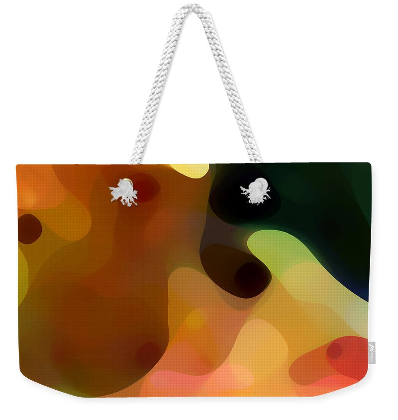 Bold Weekender Tote Bag featuring the painting Cactus Fruit by Amy Vangsgard