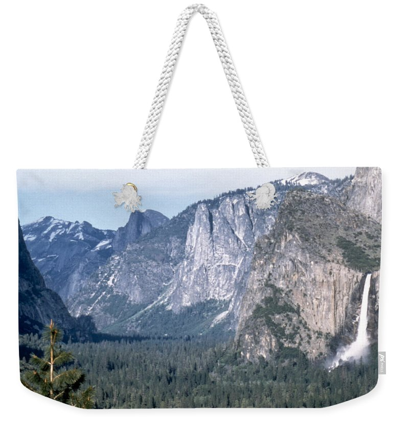 20th Century Weekender Tote Bag featuring the photograph California: Yosemite Valley by Granger