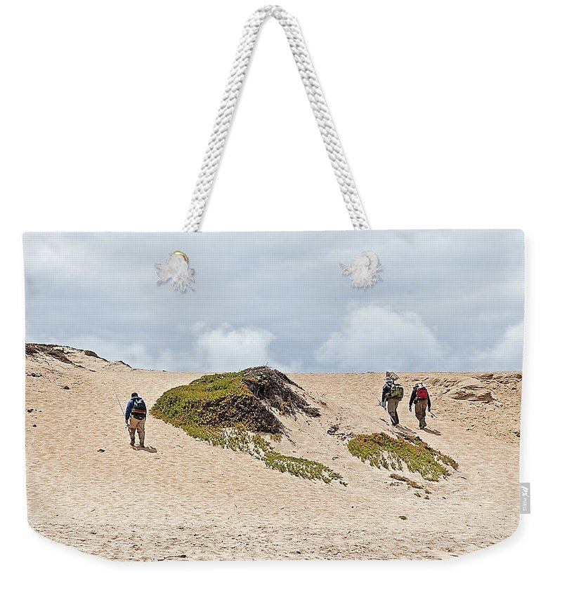 Ocean Weekender Tote Bag featuring the photograph Call It A Day by Jay Billings
