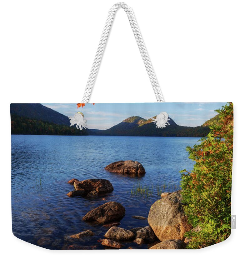 Calm Weekender Tote Bag featuring the photograph Calm Before The Storm by Chad Dutson