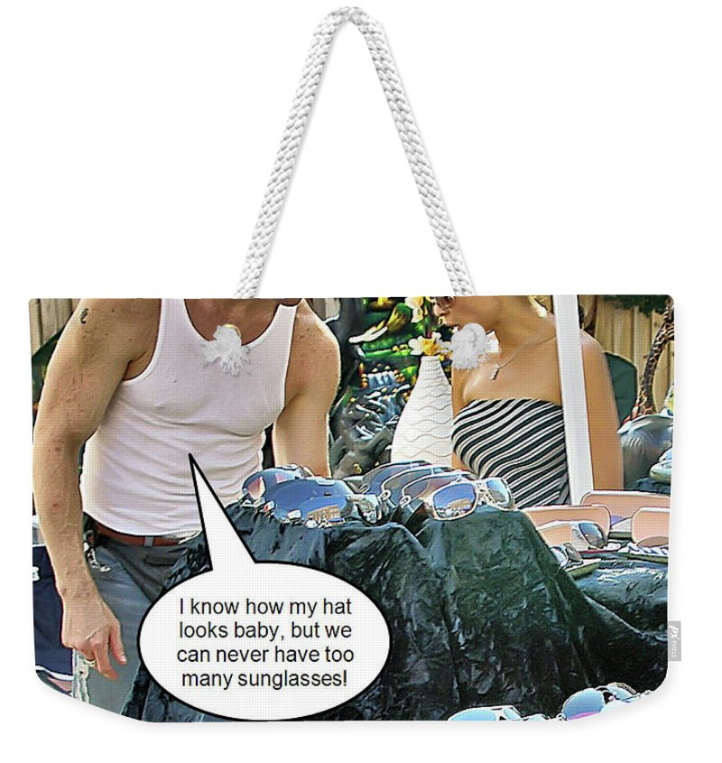 2d Weekender Tote Bag featuring the photograph Can Never Have Too Many by Brian Wallace