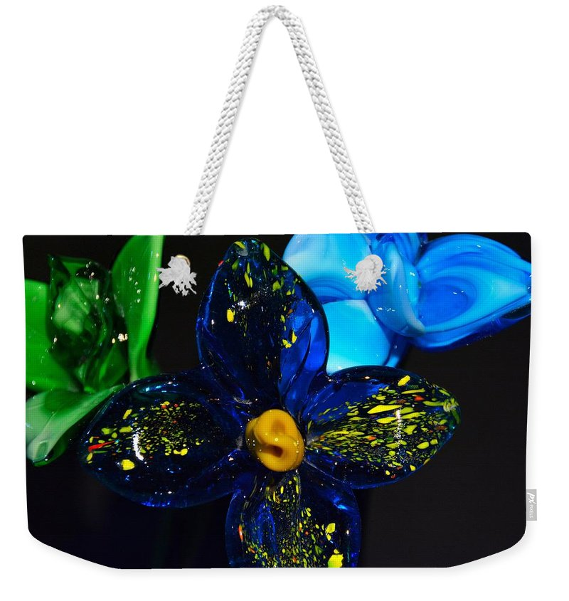 Flowers Weekender Tote Bag featuring the photograph Can You Smell The Flowers by Jennifer Wick