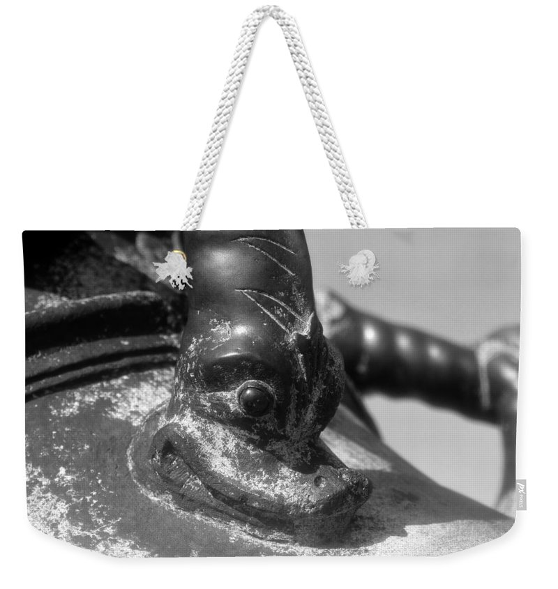 Cannon Weekender Tote Bag featuring the photograph Cannon Detail by David Lee Thompson