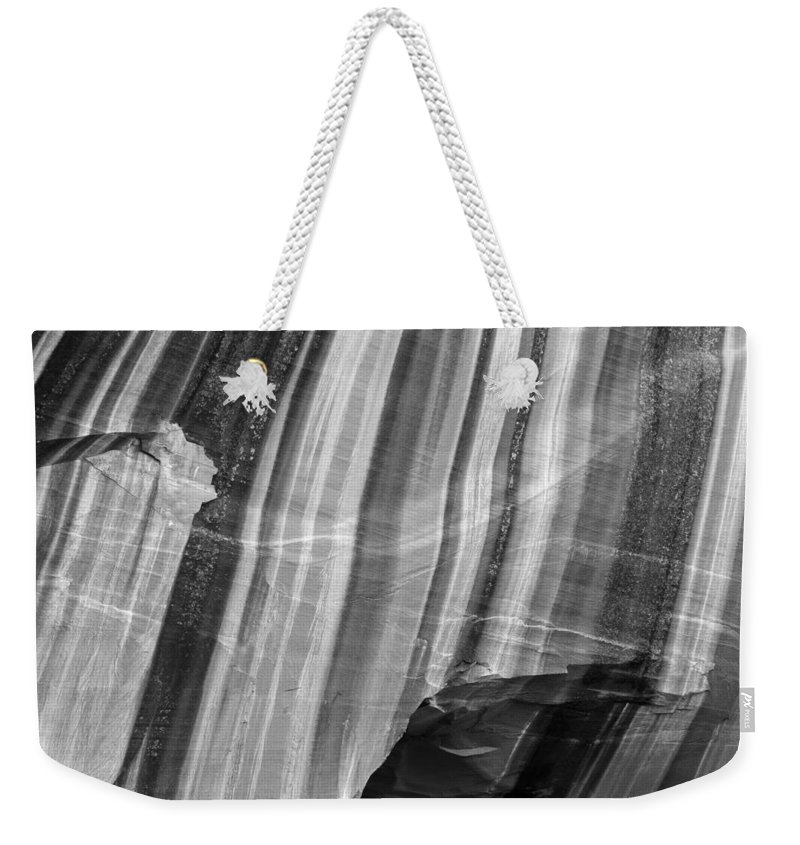Canyon Weekender Tote Bag featuring the photograph Canyon Varnish 9602 by Bob Neiman
