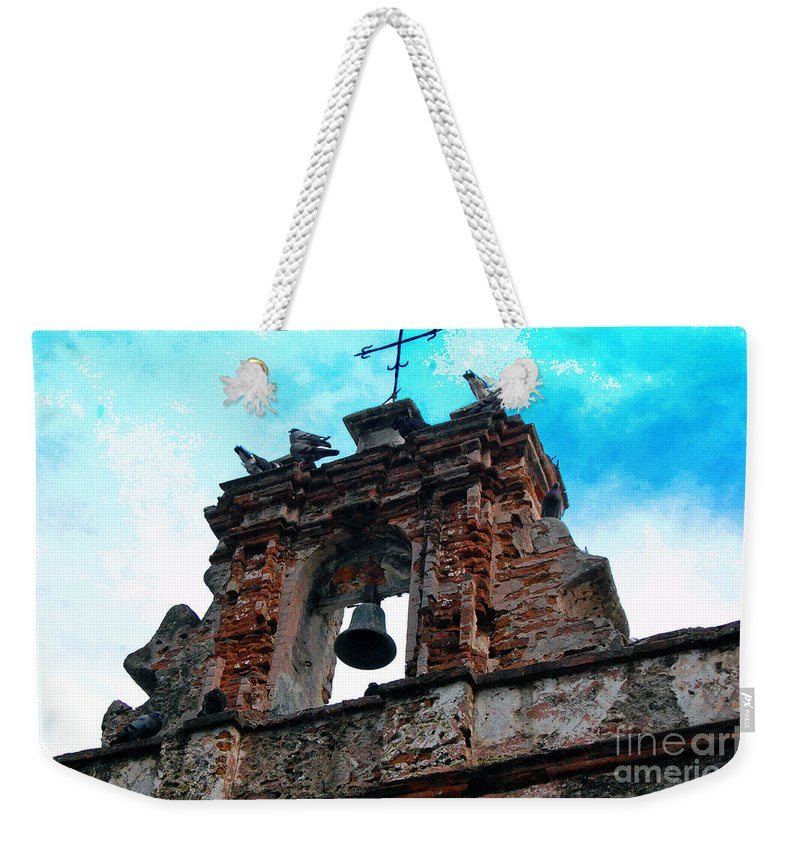 San Juan Weekender Tote Bag featuring the photograph Capilla De Cristo  by Debbi Granruth