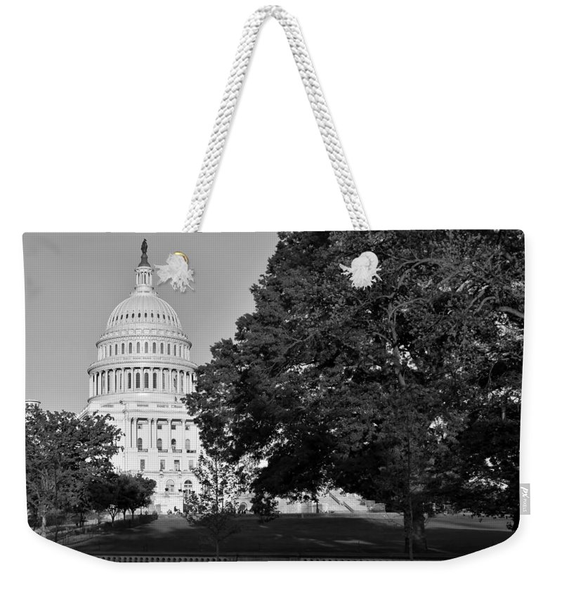 Capitol Hill Weekender Tote Bag featuring the photograph Capitol Hill by Christopher Miles Carter