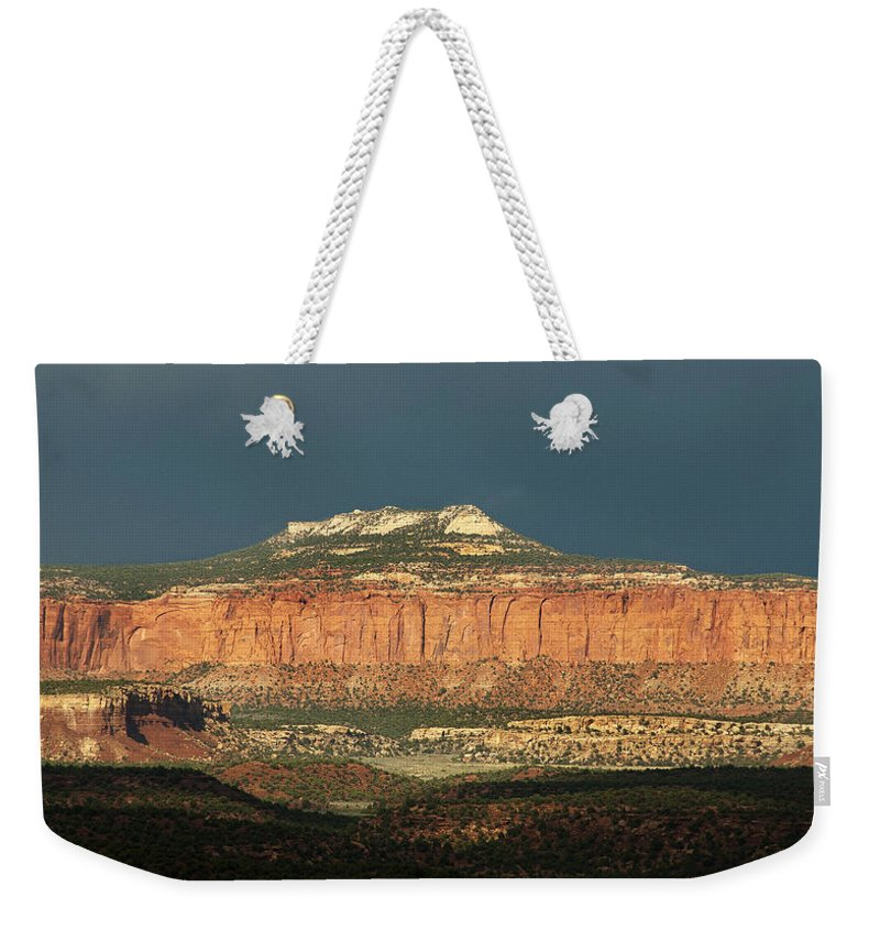 Storm Weekender Tote Bag featuring the photograph Capitol Reef 0052 by Bob Neiman