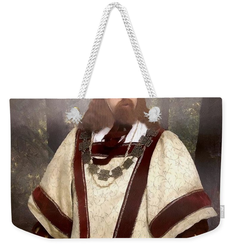 Autumn Weekender Tote Bag featuring the painting Captain Of The Guild Of St. Maurice by RC DeWinter