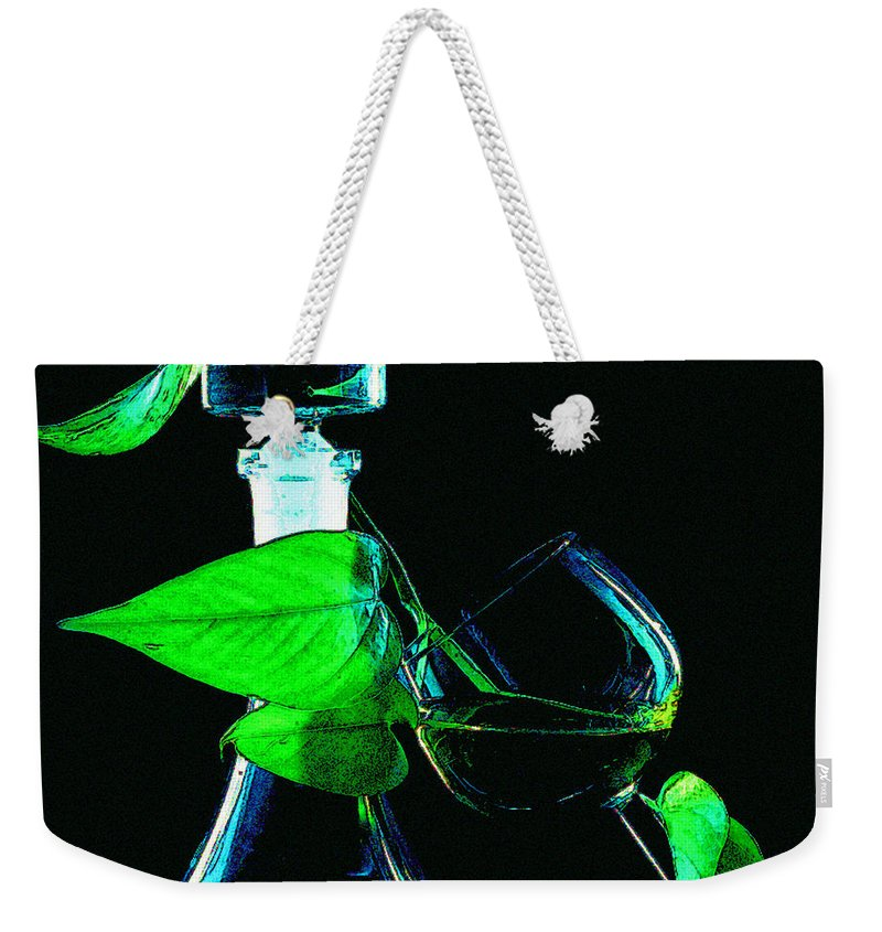 Captains Decanter Weekender Tote Bag featuring the photograph Captains Decanter by Paul Wear