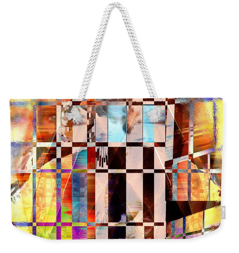 Abstract Weekender Tote Bag featuring the photograph Captivia by Seth Weaver