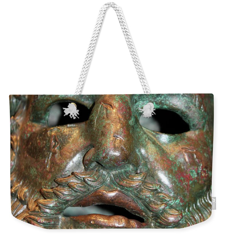 Smoke Weekender Tote Bag featuring the photograph Capturing The Ghost by Munir Alawi