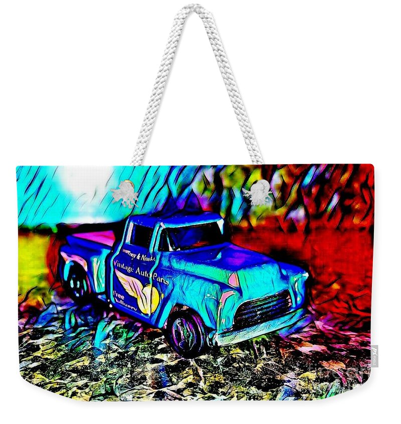 Weekender Tote Bag featuring the photograph Car 5 by Clint Day