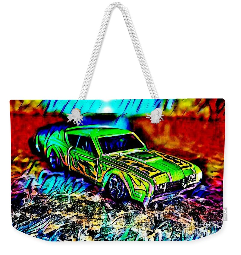 Weekender Tote Bag featuring the photograph Car by Clint Day