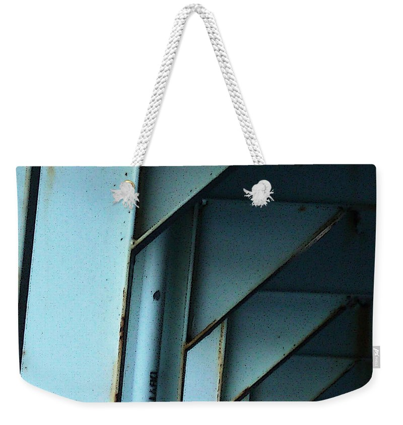 Ferry Weekender Tote Bag featuring the photograph Car Ferry by Tim Nyberg