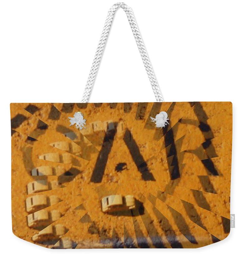 Car Weekender Tote Bag featuring the digital art Car by Tim Allen