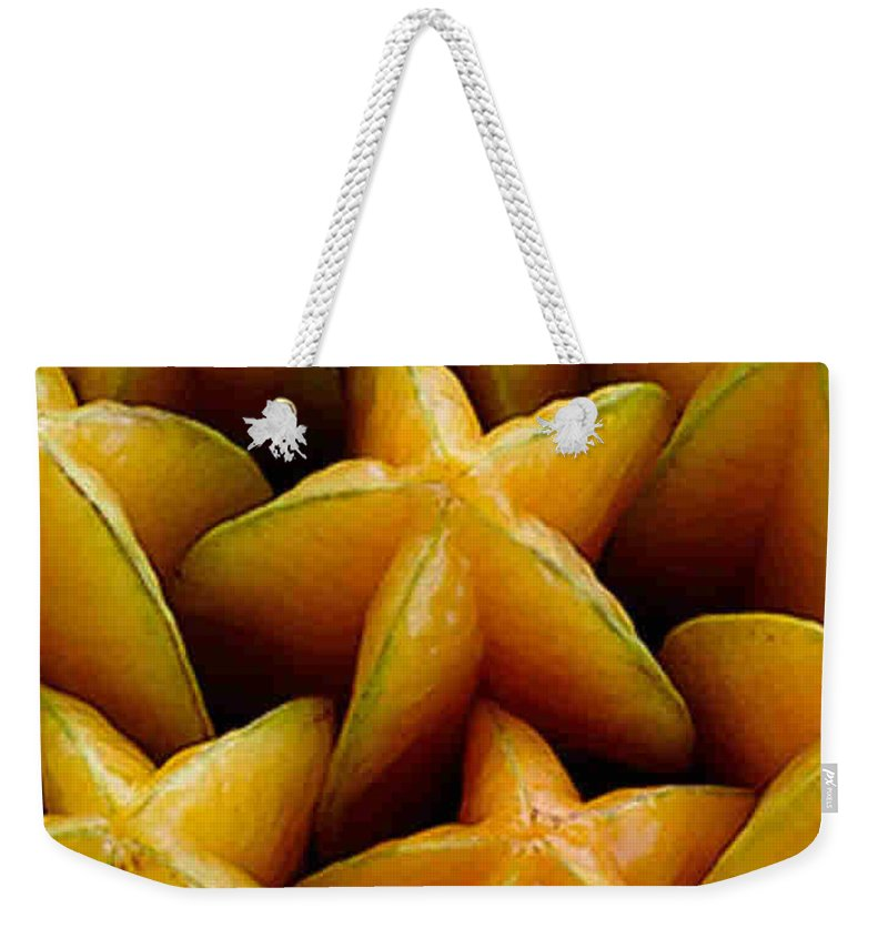 Caranbola Weekender Tote Bag featuring the photograph Carambola by Dragica Micki Fortuna