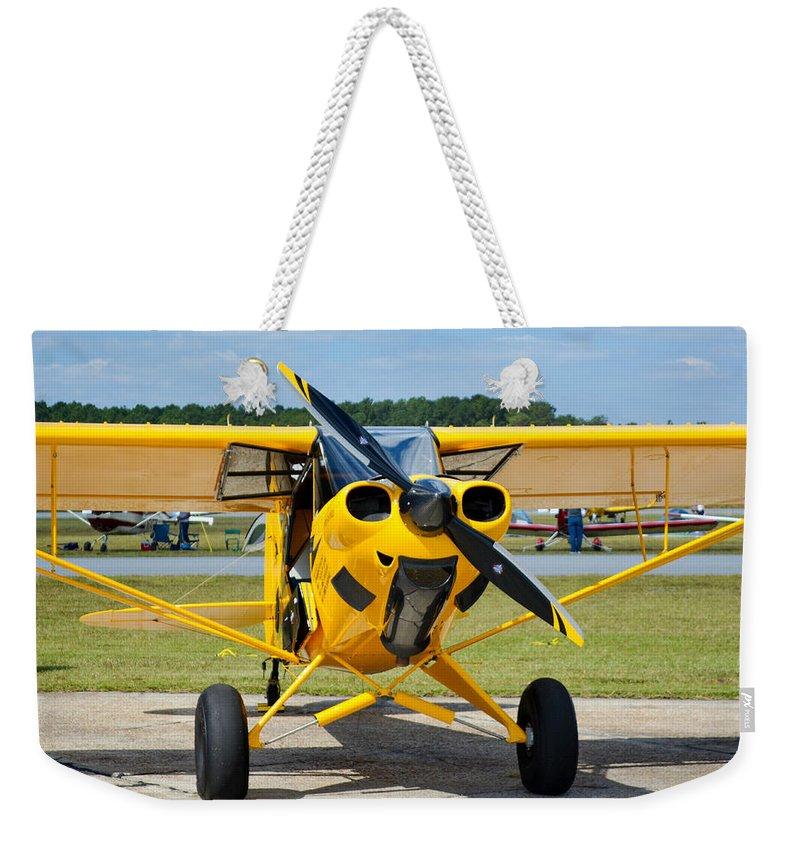 Carbon Cub Ss Weekender Tote Bag