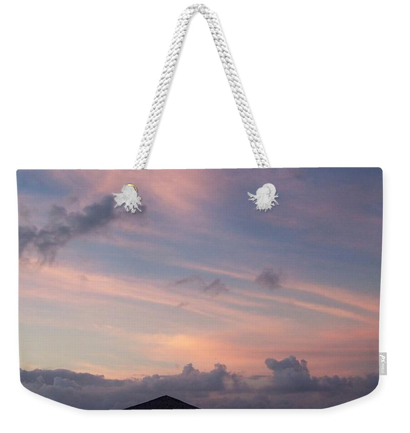 Ocean Weekender Tote Bag featuring the photograph Caribbean Sunrise by Gale Cochran-Smith