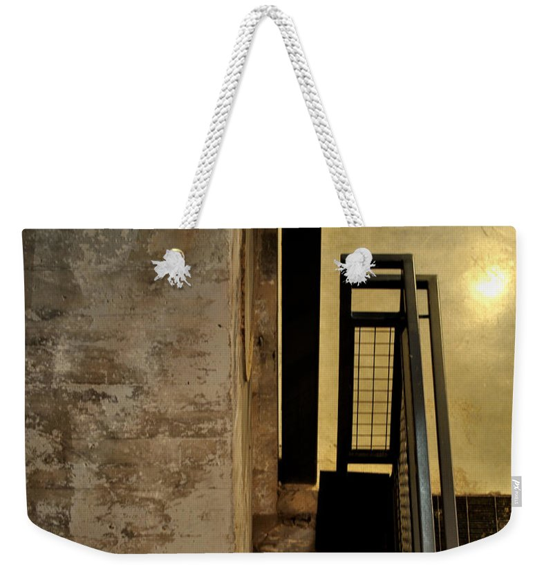 Abstract Weekender Tote Bag featuring the photograph Carlton 11 by Tim Nyberg