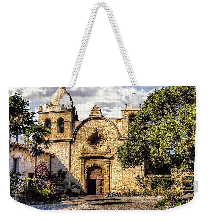 Carmel Weekender Tote Bag featuring the photograph Carmel By The Sea by Bruce Bottomley