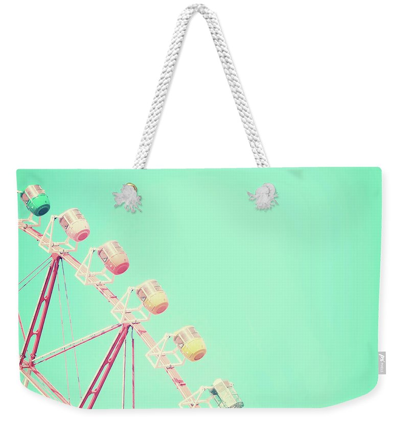 Carnival Weekender Tote Bag featuring the photograph Carnival by Delphimages Photo Creations