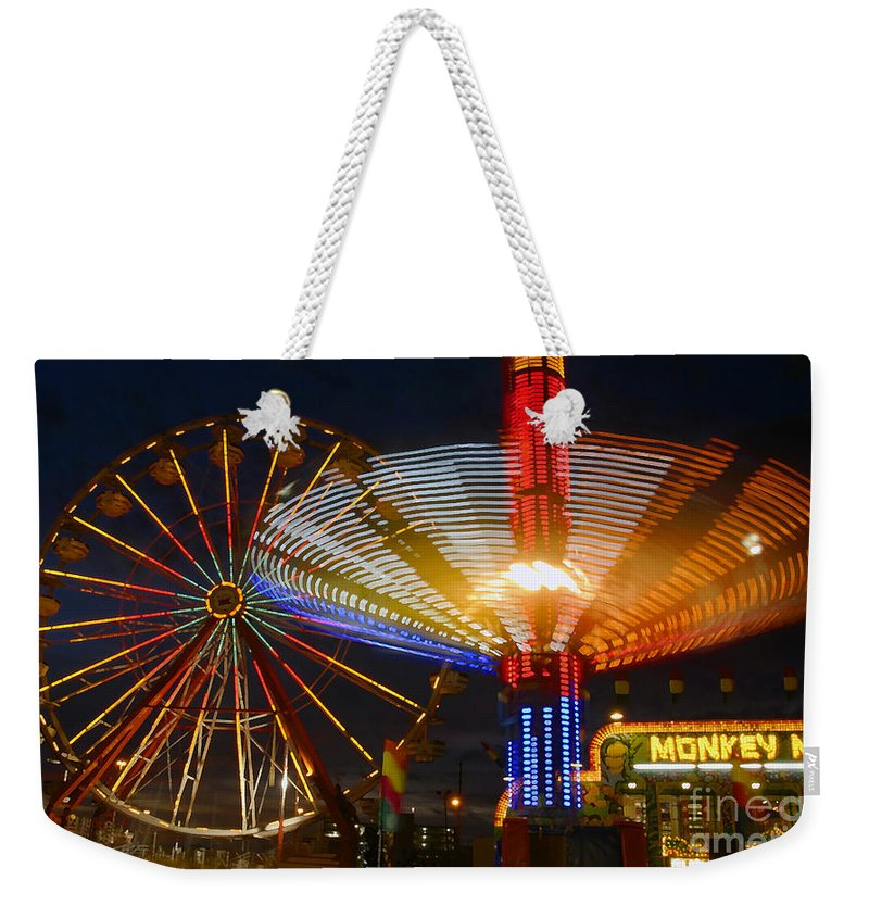 Carnival Weekender Tote Bag featuring the photograph Carnival Fun by David Lee Thompson