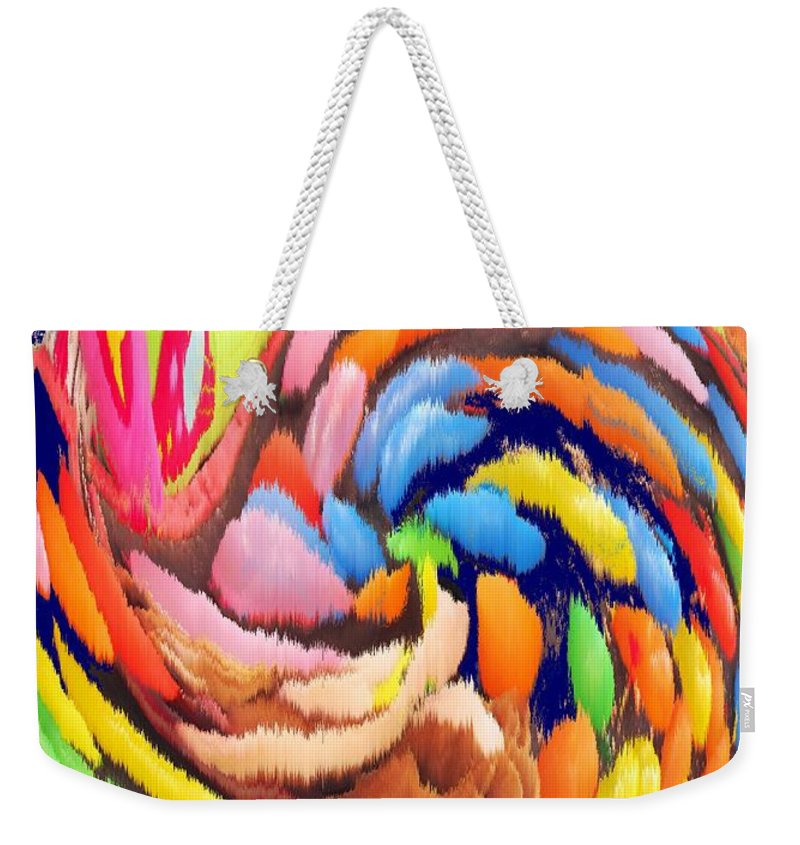 Carnival Weekender Tote Bag featuring the photograph Carnival by Ian MacDonald