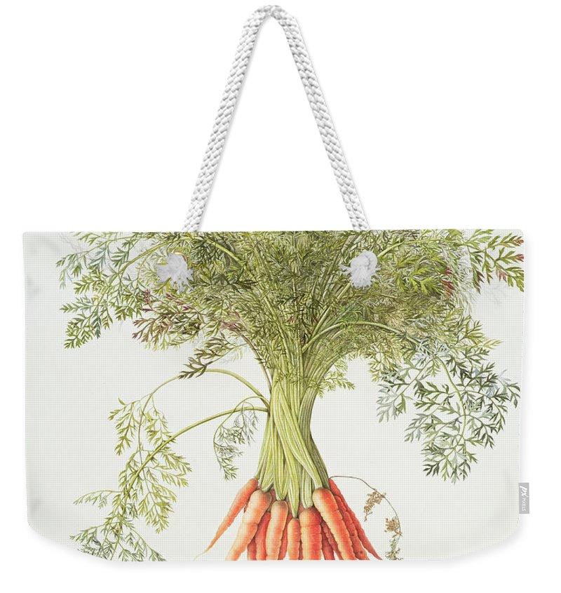 Carrot Weekender Tote Bags