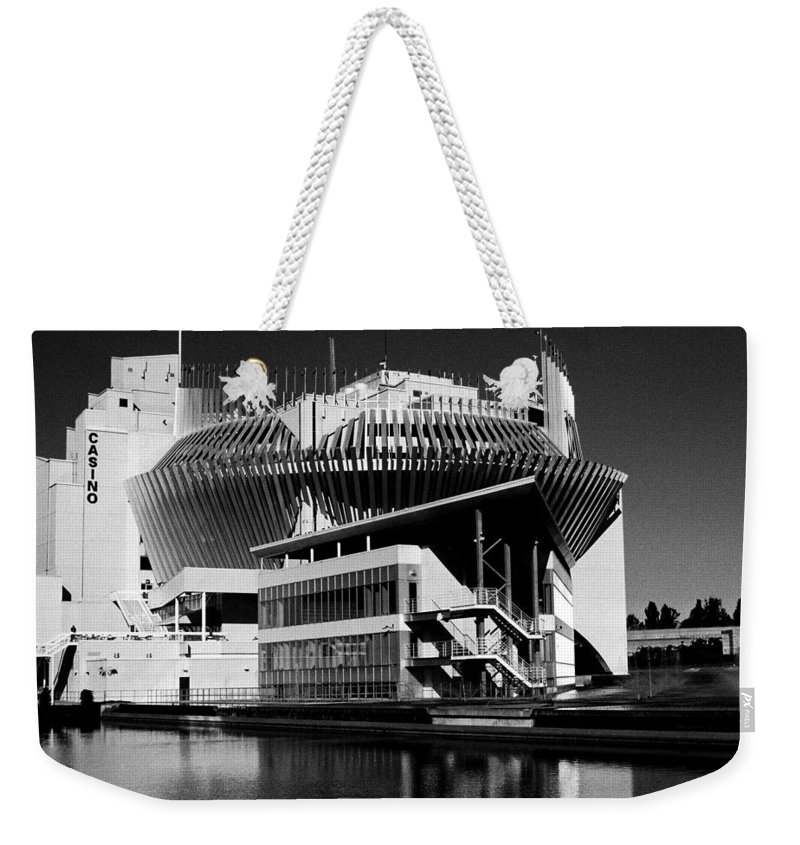 North America Weekender Tote Bag featuring the photograph Casino Montreal by Juergen Weiss