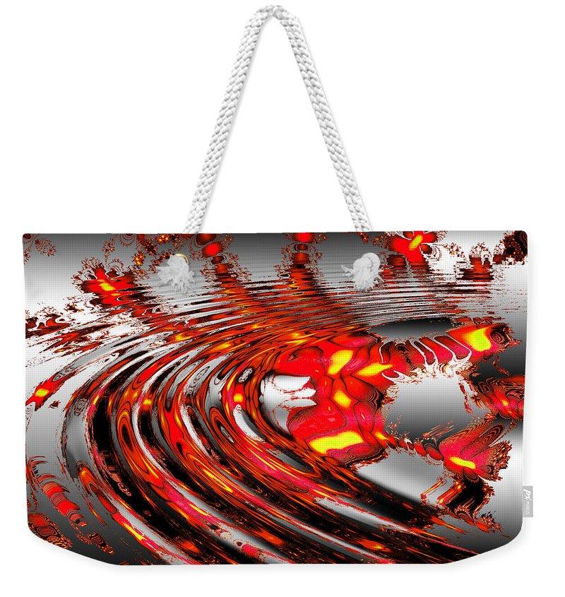 Star Weekender Tote Bag featuring the digital art Cassie's World by Robert Orinski