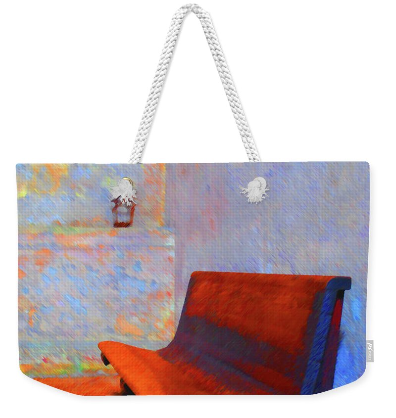 Bench Weekender Tote Bag featuring the photograph Castillo De San Marcos Bench by Jost Houk