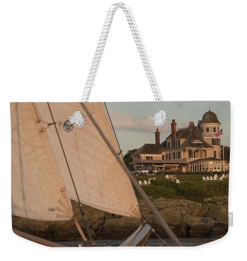 Castle Hill Weekender Tote Bag featuring the photograph Castle Hill by Steven Natanson