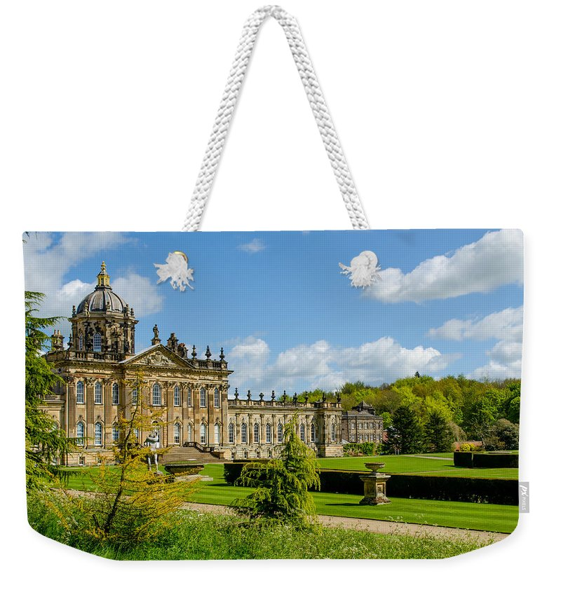Castle Weekender Tote Bag featuring the photograph Castle Howard by Shanna Hyatt