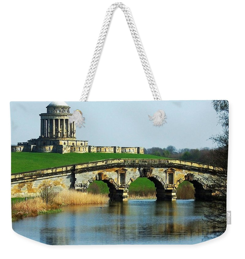 Castle Weekender Tote Bag featuring the photograph Castle Howard by Svetlana Sewell