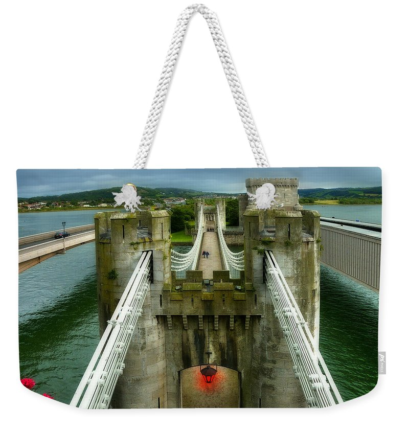 Ancient Weekender Tote Bag featuring the photograph Castle by Svetlana Sewell
