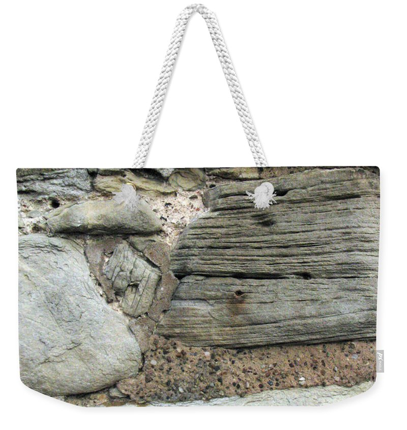 Castle Weekender Tote Bag featuring the photograph Castle Walls by Amanda Barcon