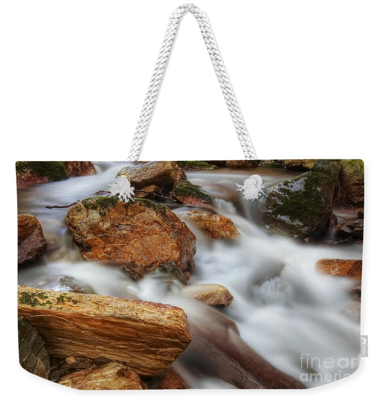 Water Weekender Tote Bag featuring the photograph Cataracts by Michal Boubin
