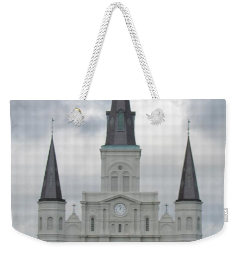 Church Weekender Tote Bag featuring the photograph Cathedral Church by Michelle Powell