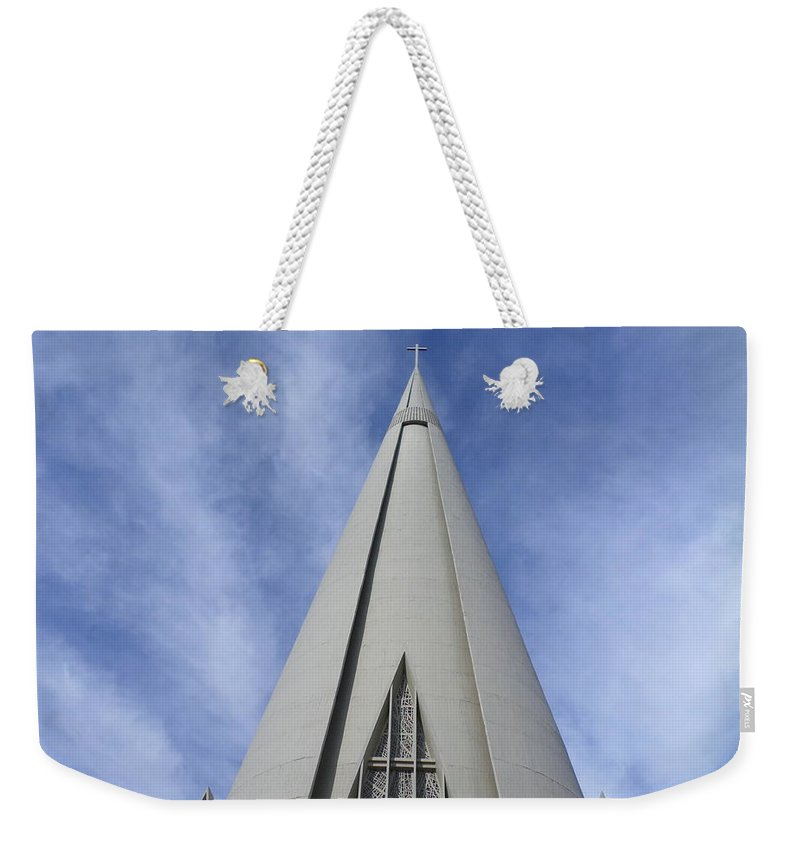 Cityscape Weekender Tote Bags
