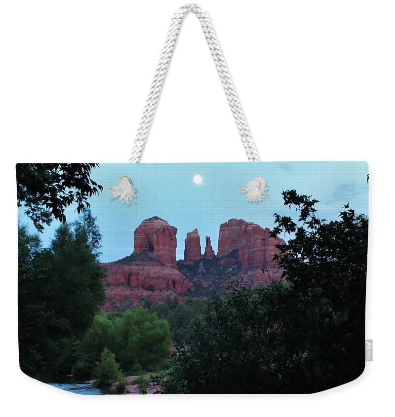 Cathedral Rock Weekender Tote Bag featuring the photograph Cathedral Rock Rrc 081913 Ac by Edward Dobosh