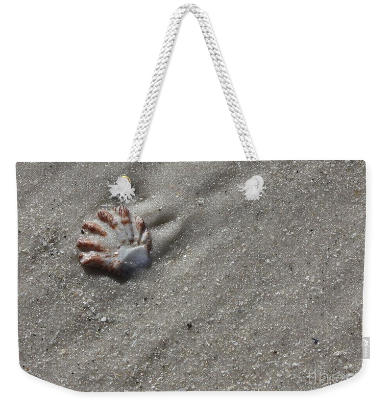Shell Weekender Tote Bag featuring the photograph Cat's Paw by Carol Groenen