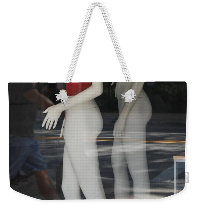 Pop Art Weekender Tote Bag featuring the photograph Caught Ya Looking by Rob Hans
